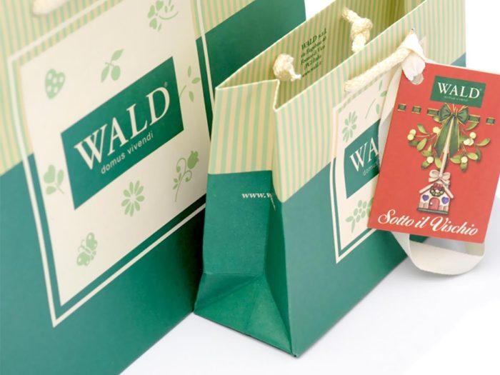shopper personalizzate con manici in corda per wald