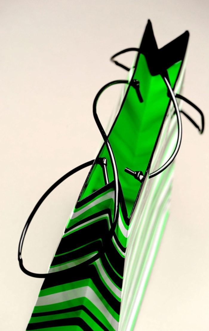 Busta Riga Verde Coltoriti