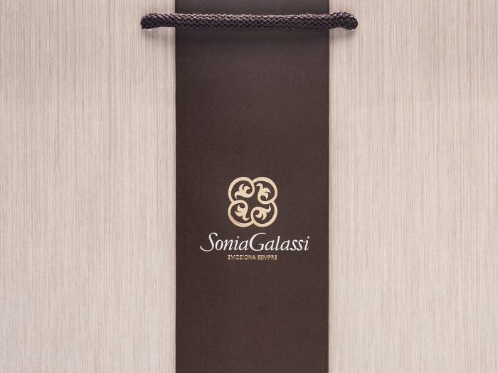 shopper lusso personalizzate linea coordinata Sonia Galassi