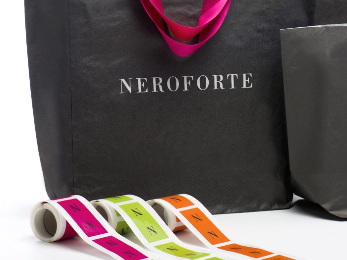 Packaging personalizzato Neroforte
